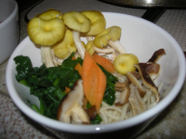 Udon Soup Before Broth