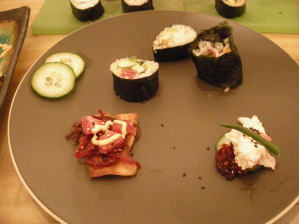 Playful sushi