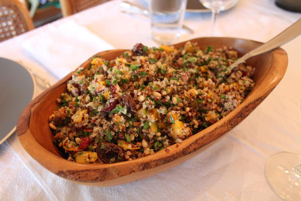 Quinoa and Butternut Squash