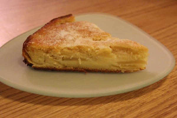 French Apple Cake Slice