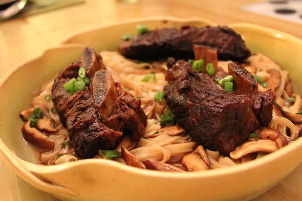 Soy Braised Short Ribs