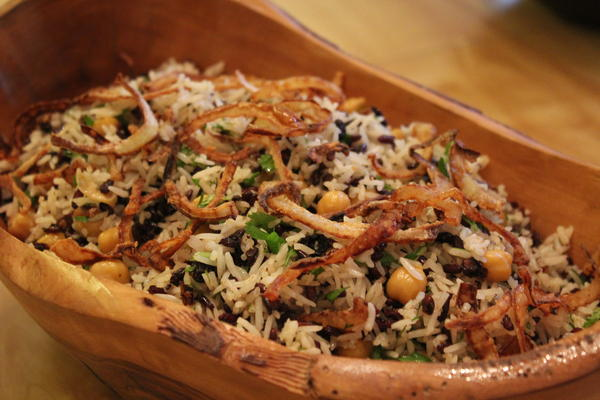 Basmati with Wild Rice