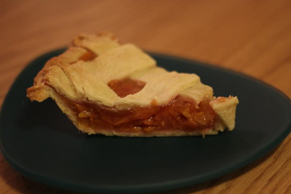 Peach Pie Slice