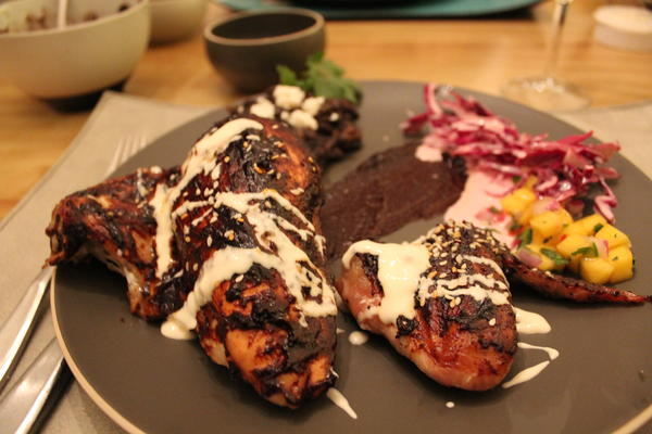 Mole Lacquered Chicken
