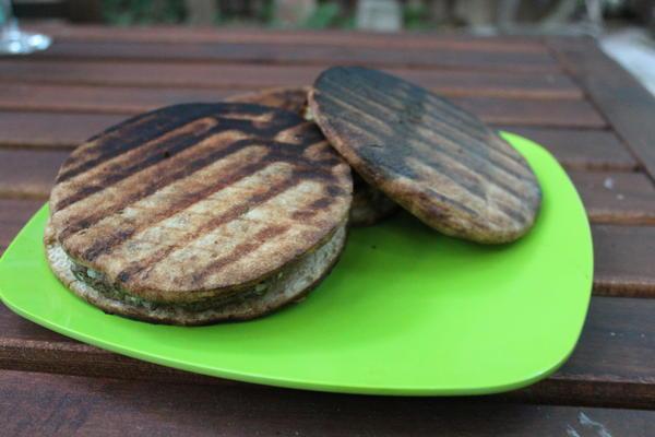 Grilled Lamb Pita Burgers