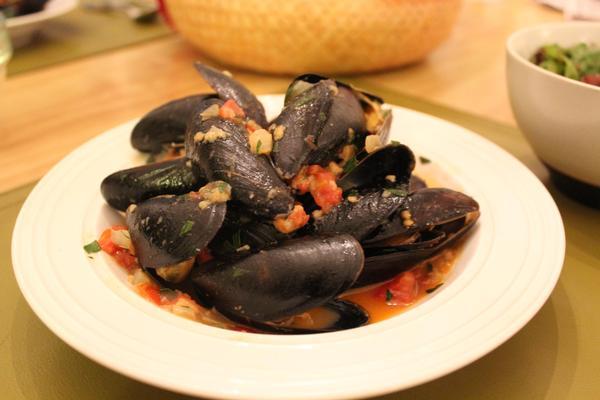Mussels a la Dubrovnik