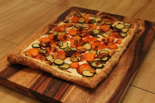 Carrot Ricotta Tart