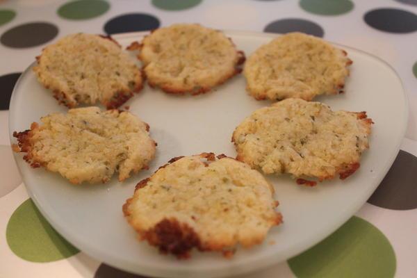 Basil Citrus cookies