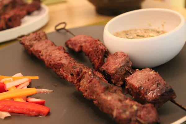 Malaysian Steak Skewers