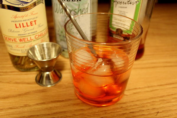 Unusual Negroni